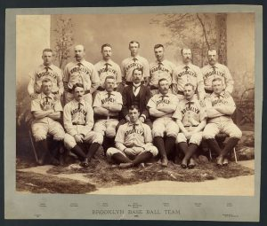 Brooklyn Bridegrooms baseball team, aka Brooklyn Grays, aka Brooklyn Dodgers