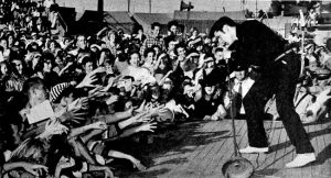 Elvis at Mississippi-Alabama Fairgrounds, Tupelo, Mississippi, September 26, 1956