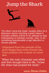 jump the shark idiom meaning and origin