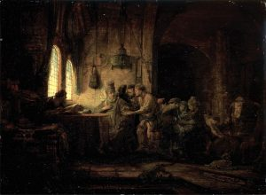 Parable of the Laborers in the Vineyard painting - eleventh hour idiom origin