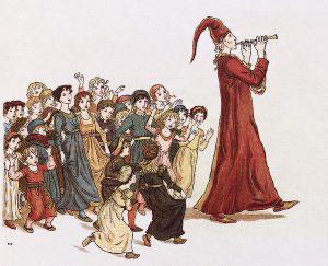 The Pied Piper of Hamelin, origin of idiom 'Pay the Piper'