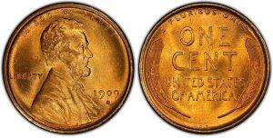 Rare 1909 VDB Lincoln wheat pennies